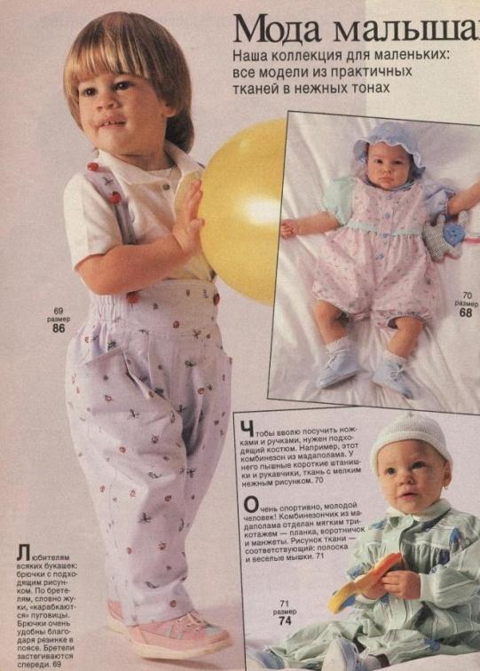 Мир рукоделия в моде малышам
