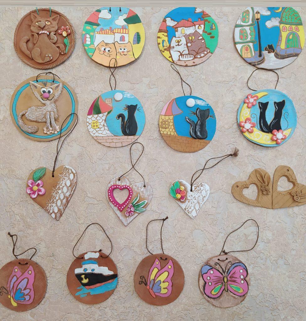 сувениры для мам из глины